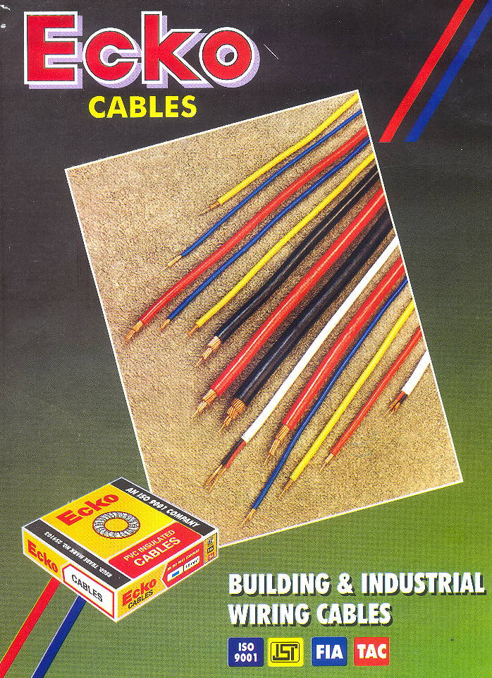 Building Industrial Wiring Cables Manufacturers India on